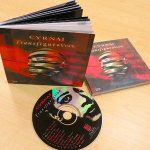 "CYRNAI ""Transfiguration"" CD and Book 80pgs (1996)"